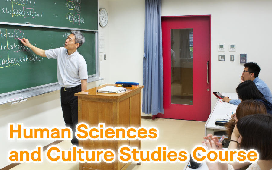 Human Sciences and Culture Studies Course